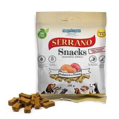 SERRANO Snack for Dog Salmon & Tuna 100 g
