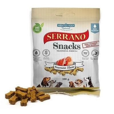 SERRANO Snack for Dog Serrano HAM 100 g