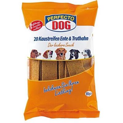 Perfecto Dog mas. plátky krůta+kachna 10ks /200 g - 1