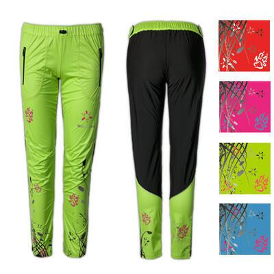 Kalhoty RUN převlekové FLOWERS COLOR různé barvy