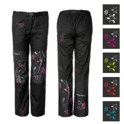 Kalhoty SIRIO dámské FLOWERS různé barvy - 1