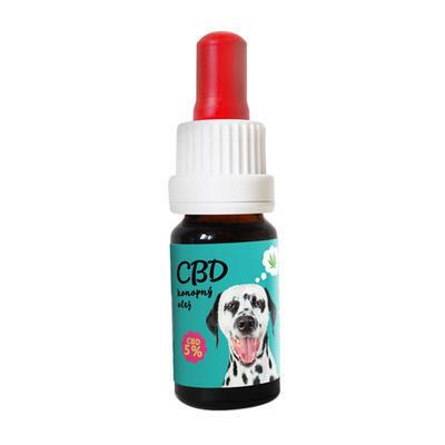 CBD Konopný olej pro zvířata 5% 10 ml - 1