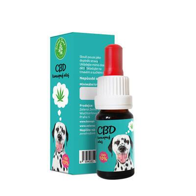 CBD Konopný olej pro zvířata 5% 10 ml - 2